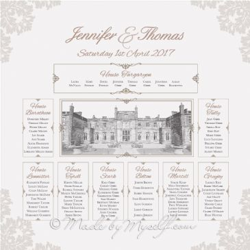 Mar Hall Table Plan